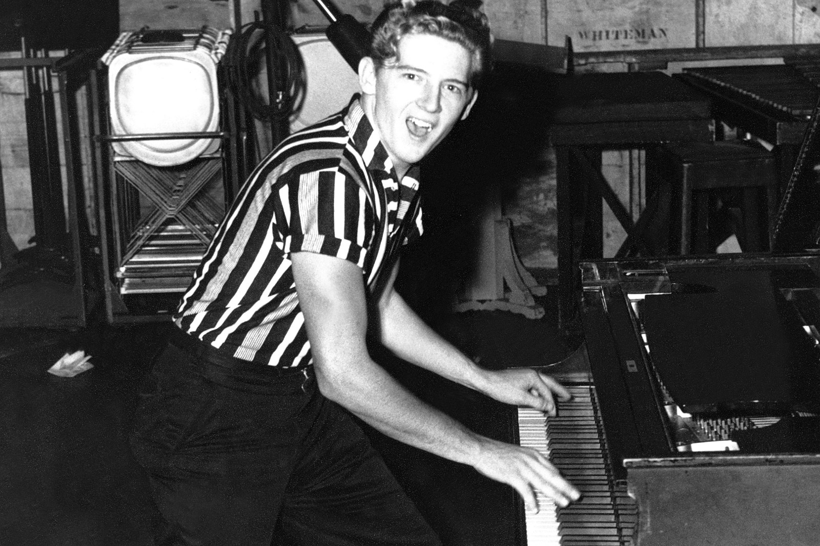 Image result for jerry lee lewis images 1950s