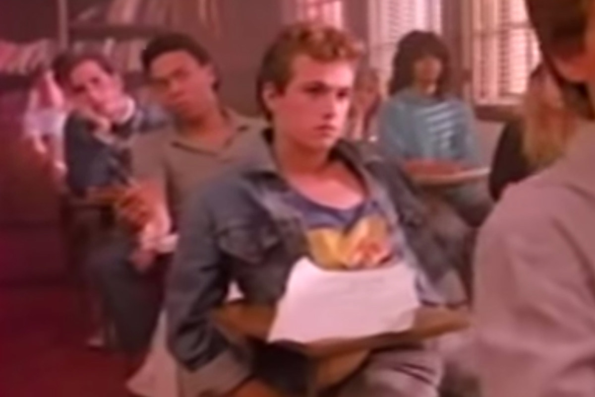 Luke Perry Was in a Twisted Sister Video That MTV Banned