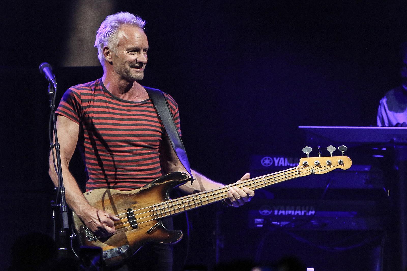 Sting Announces New Album, 'My Songs'