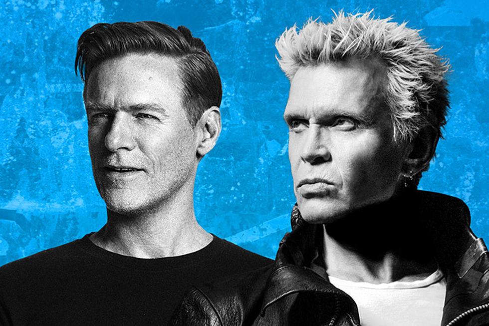 Billy Idol and Bryan Adams Announce Co-Headlining Tour