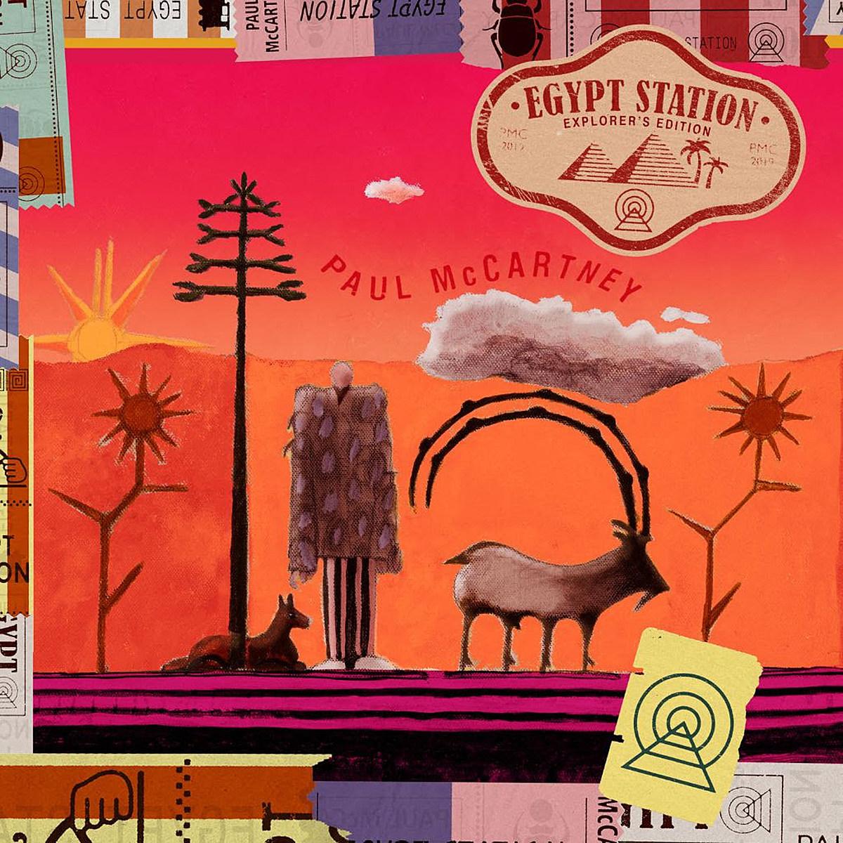 Paul McCartney Announces 'Egypt Station: Explorer's ...
