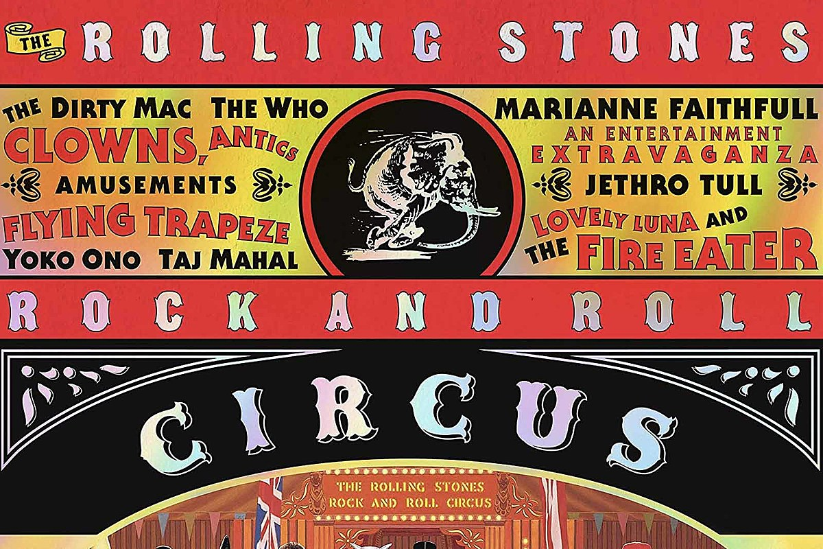 rolling stones to release 39 rock and roll circus 39 box set. Black Bedroom Furniture Sets. Home Design Ideas