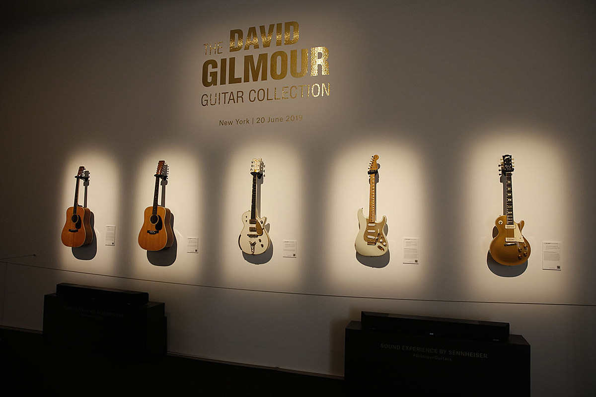 See Some of the Guitars David Gilmour Is Selling