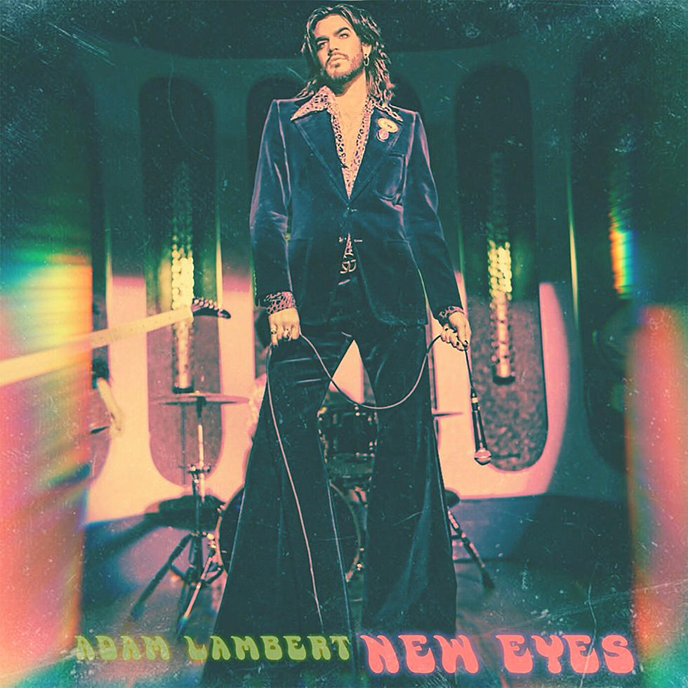 Adam Lambert Releases 'New Eyes' Solo Single, Brian May Reacts