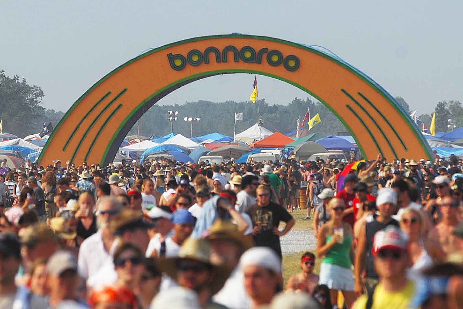 Bonnaroo Arch Destroyed by Fire