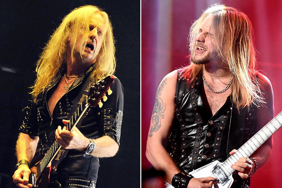 Judas Priest's Richie Faulkner Slams K K  Downing's 'Wage' Claim