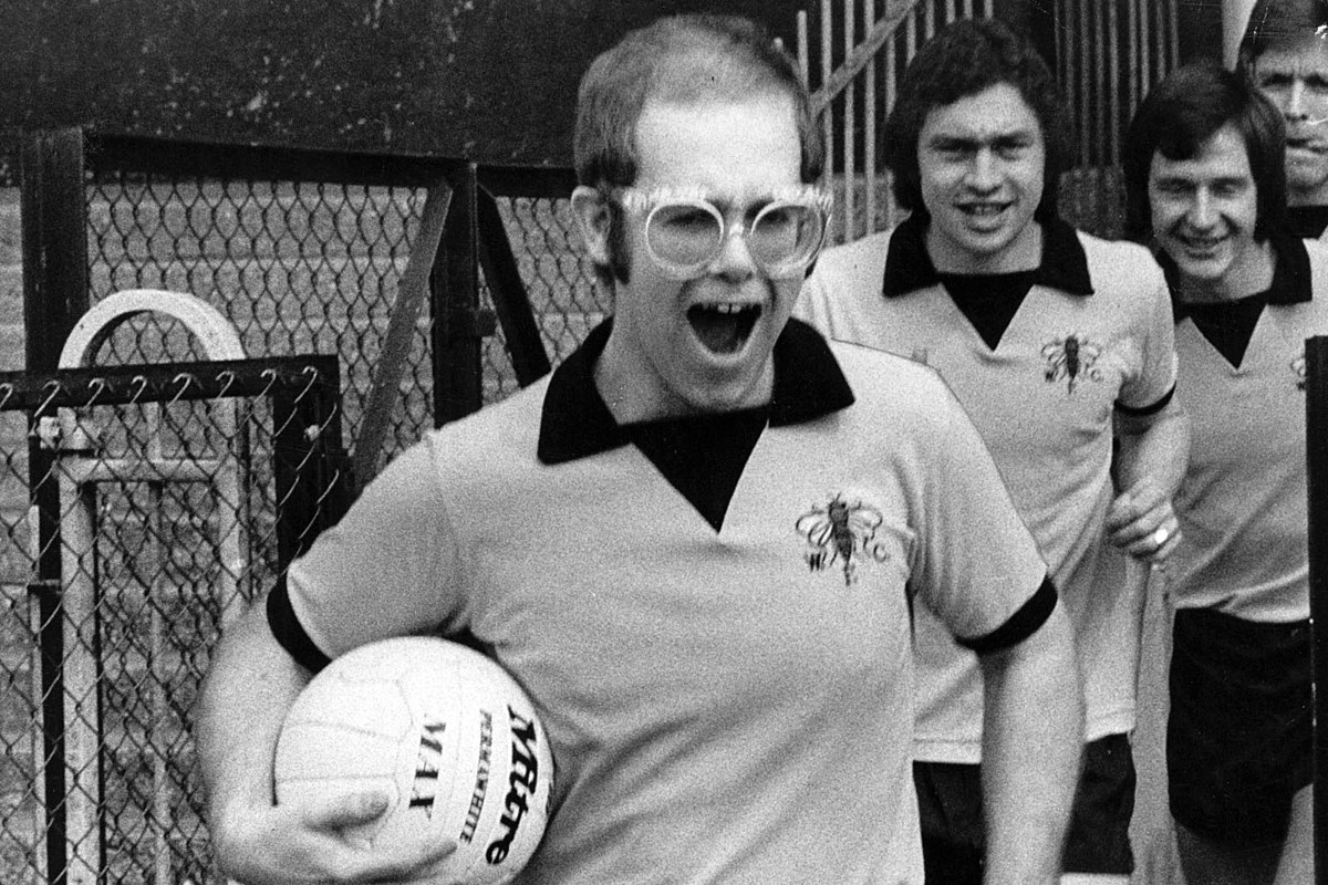 How Elton John Twice Owned His Favorite Childhood Soccer Team