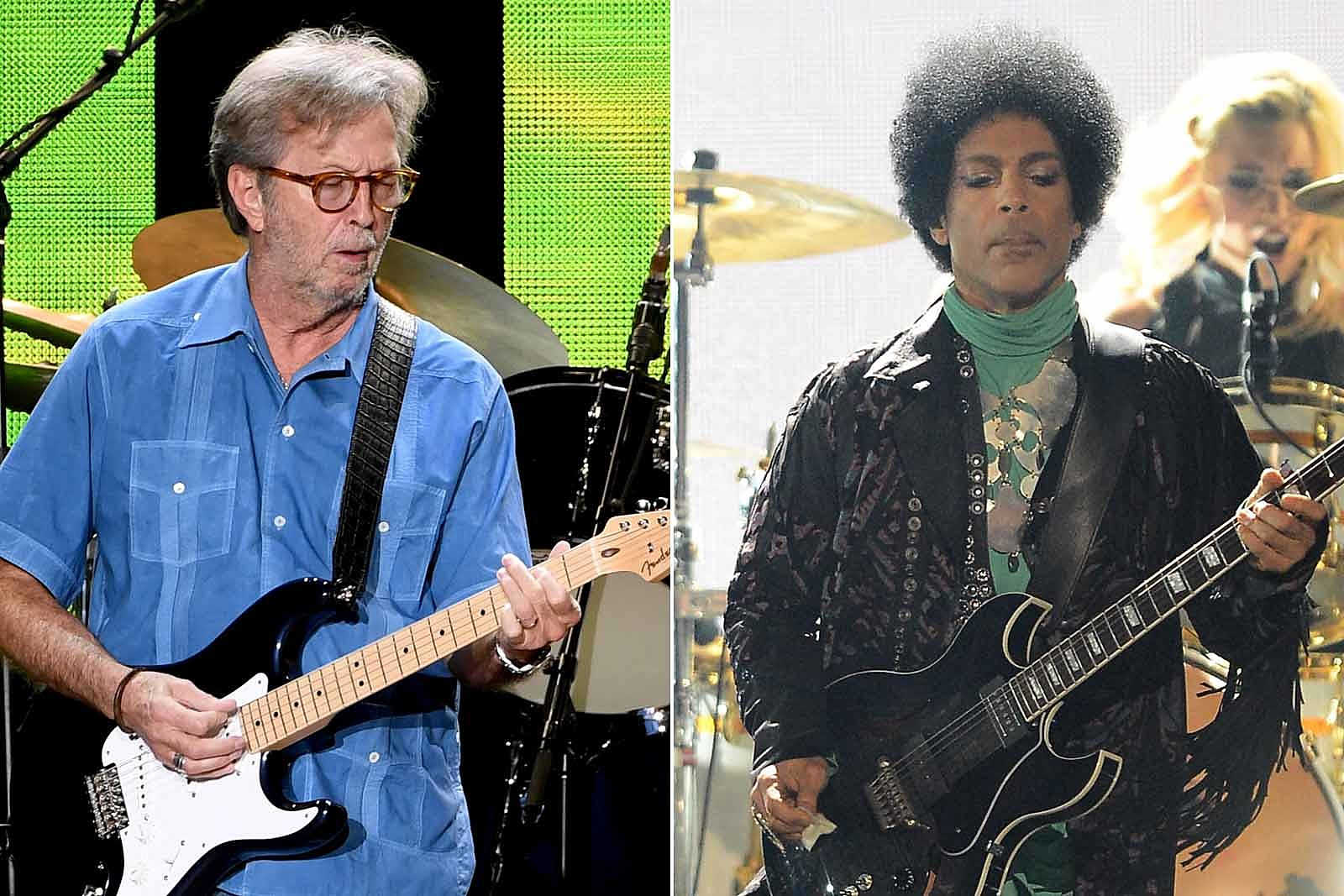 Watch Eric Clapton Cover Prince's 'Purple Rain'