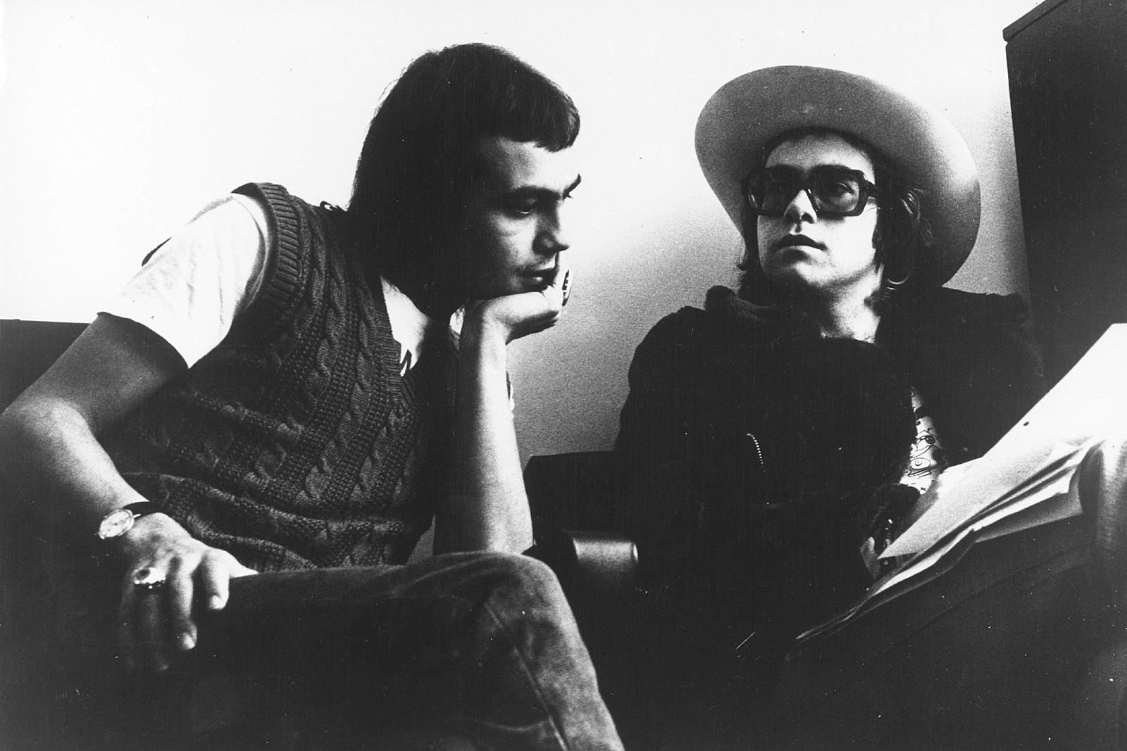 How Bernie Taupin Rejected Fame On Goodbye Yellow Brick Road