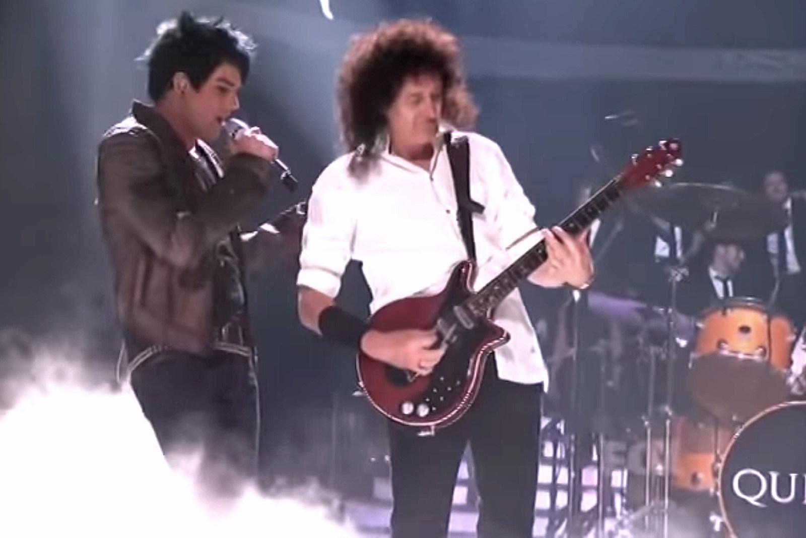 10 Years Ago Queen Meet Adam Lambert On American Idol