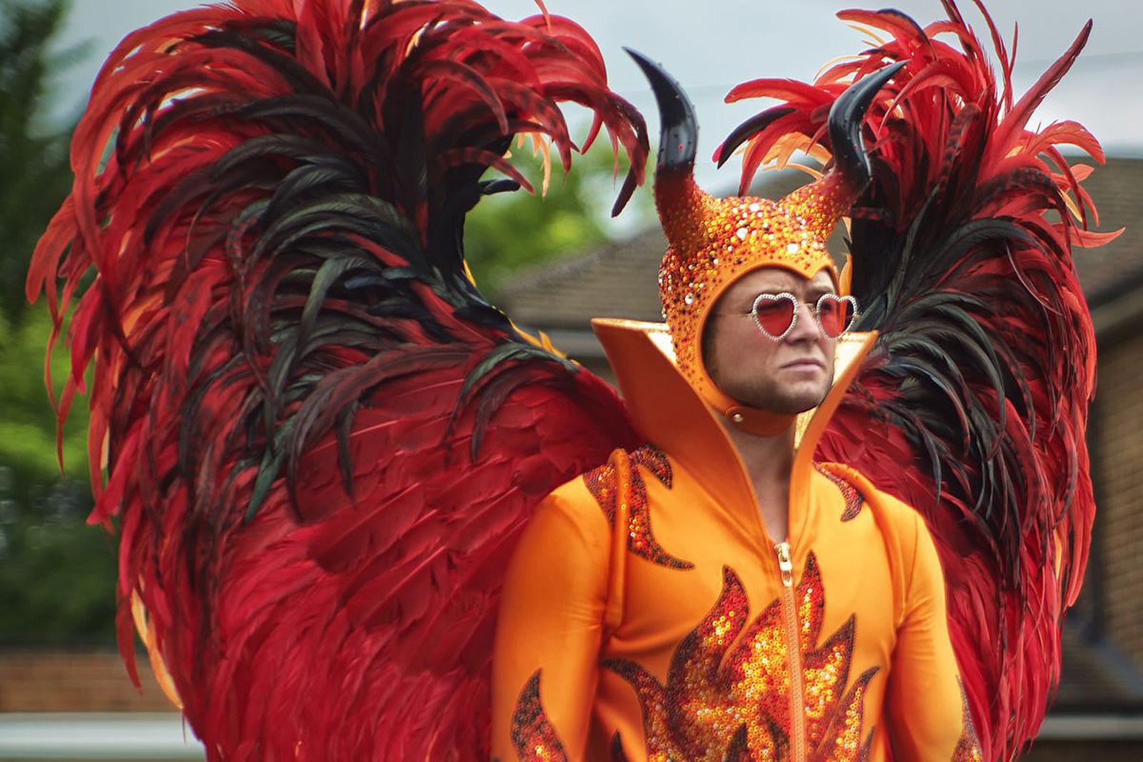 Did Elton John Really Wear That 'Rocketman' Devil Suit?