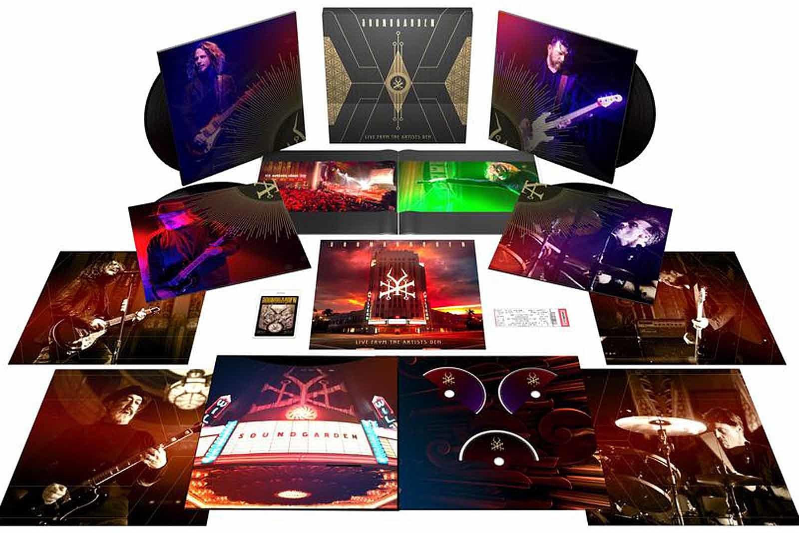 Resultado de imagem para Soundgarden: Live From The Artists Den