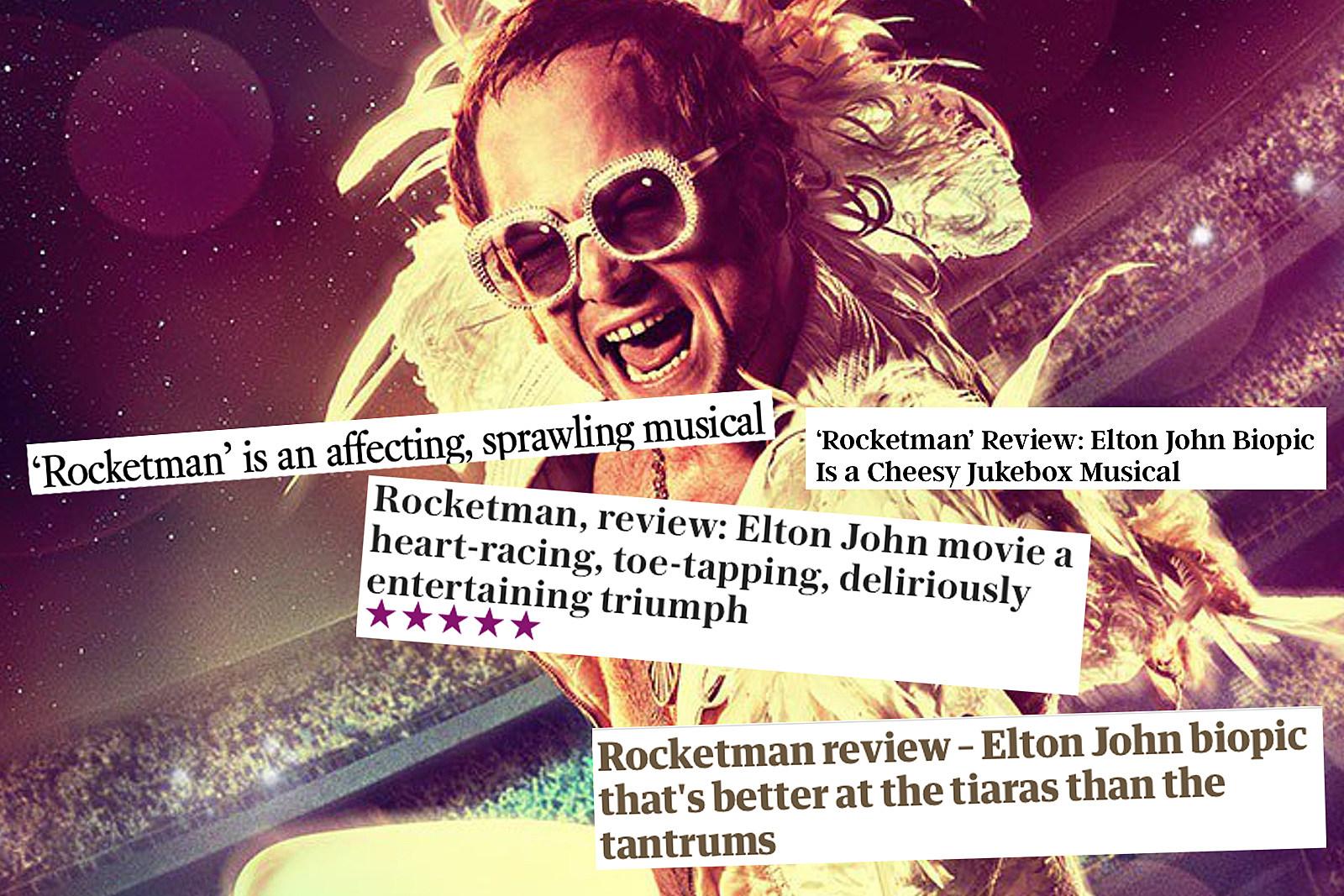 Elton John Adds His Own Rave Review for 'Rocketman'