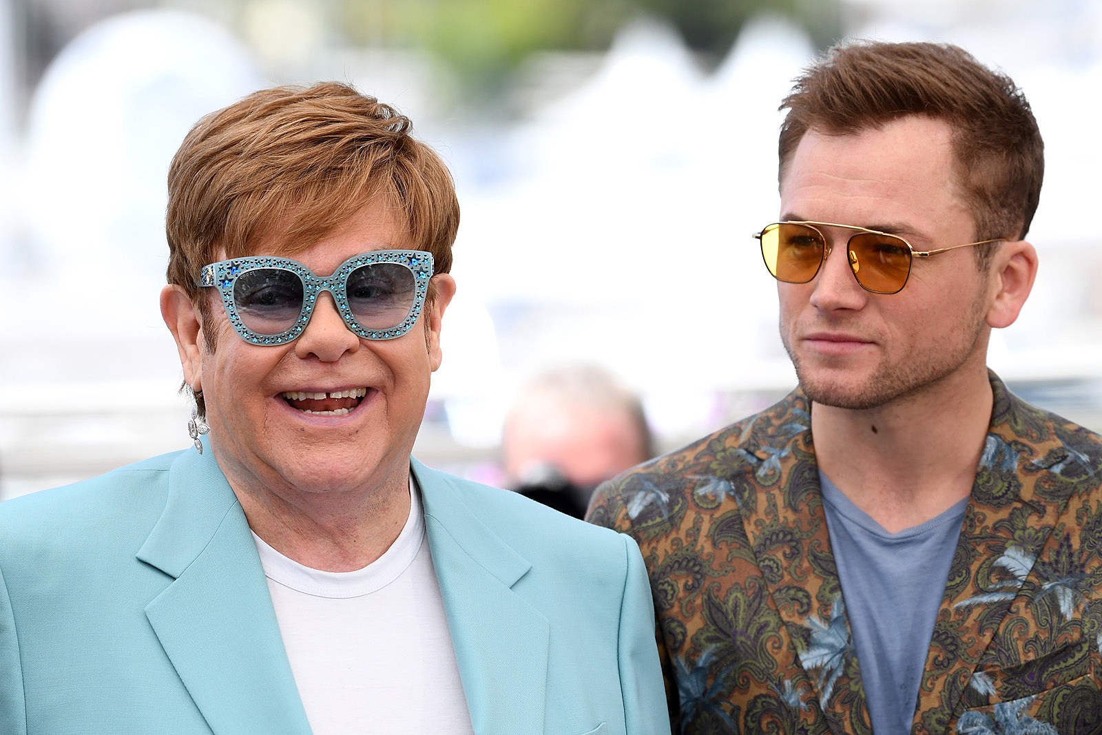 Taron Egerton Watched Elton John During 'Rocketman' Premiere