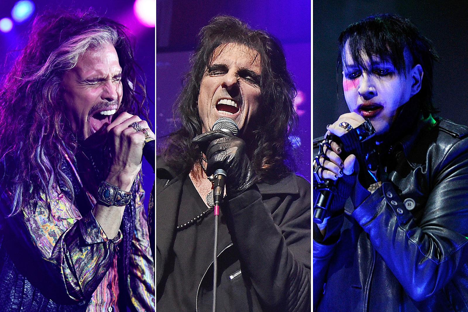 Watch Steven Tyler, Marilyn Manson Join Hollywood Vampires LIve