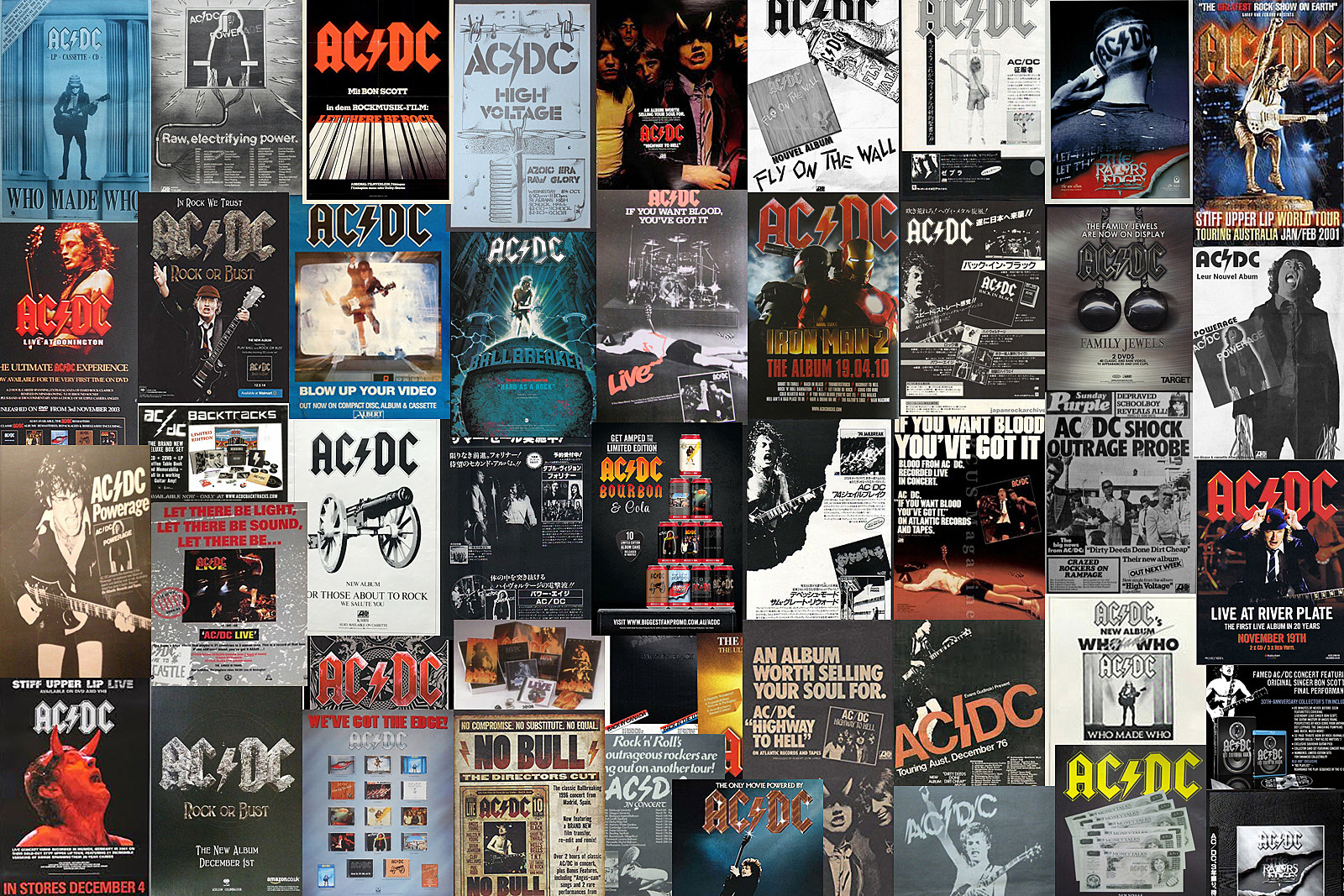 Top 50 AC/DC Songs