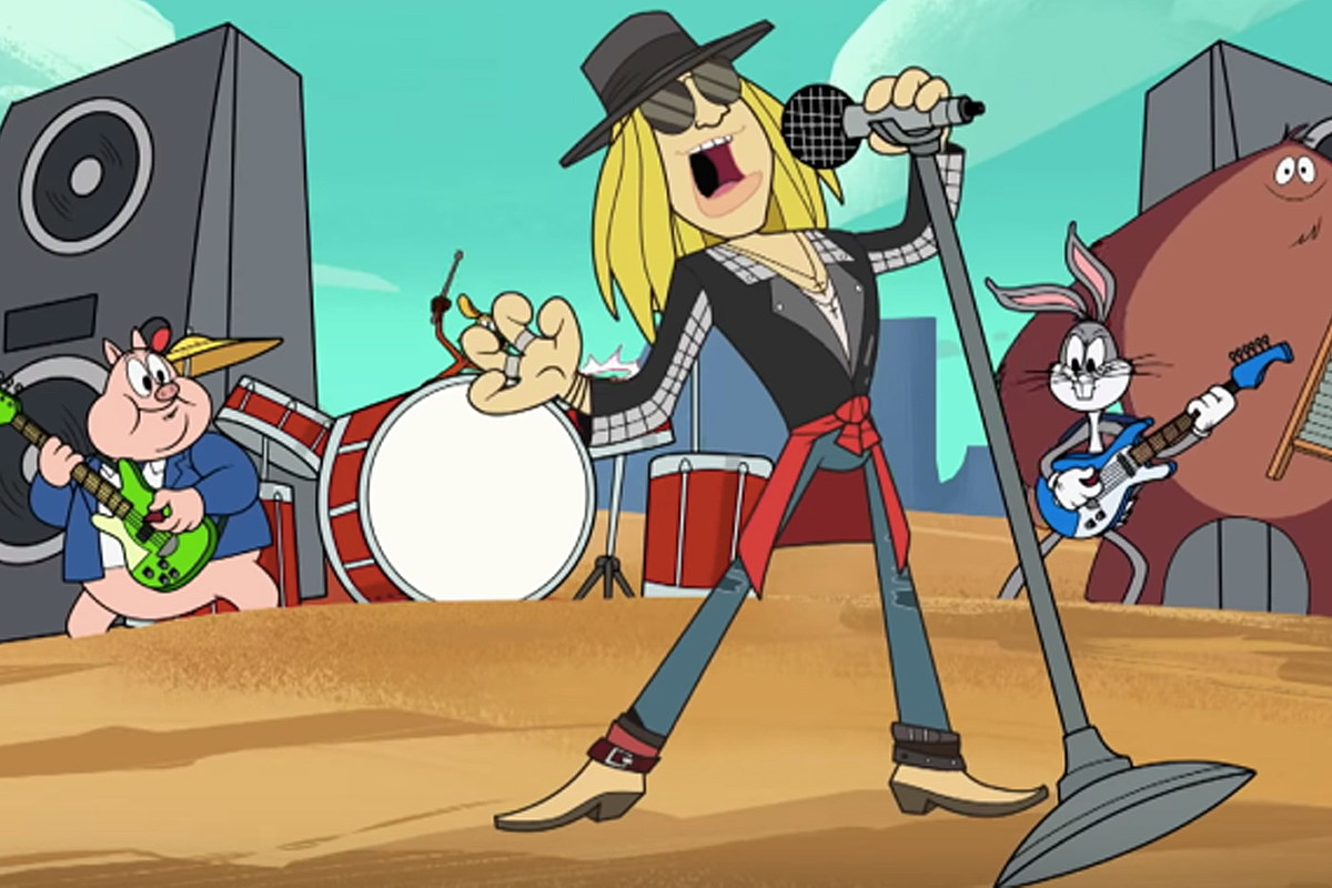 The Full Story of Axl Rose's 'Looney Tunes' Appearance Revealed