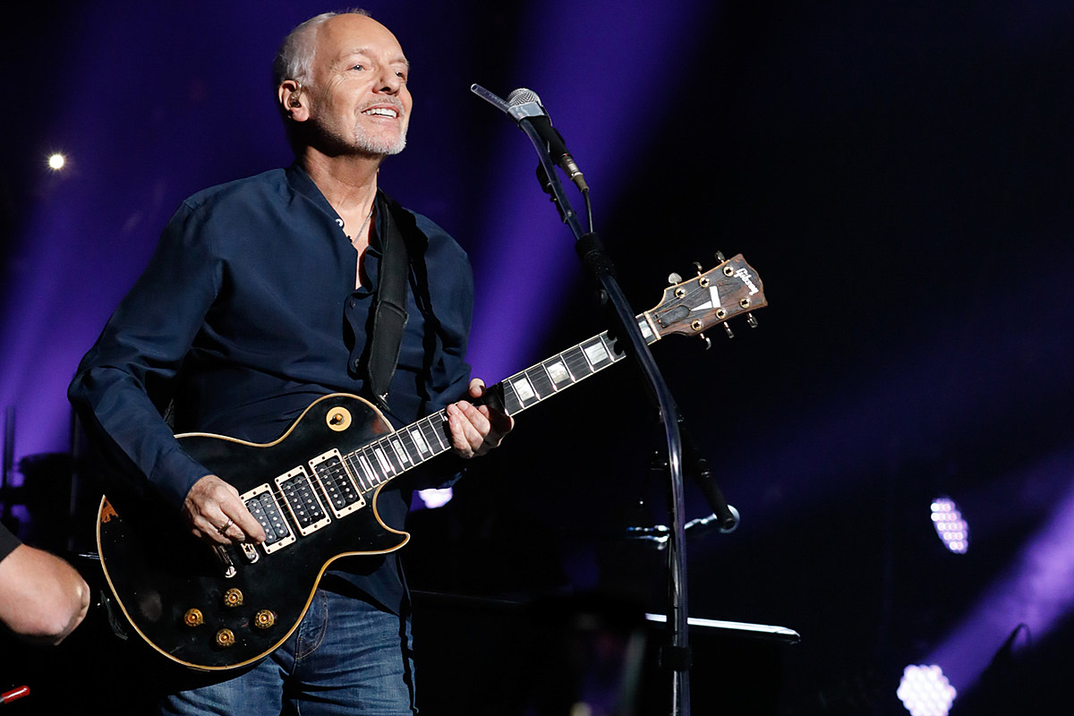 peter frampton kicks off farewell tour set list and videos. Black Bedroom Furniture Sets. Home Design Ideas