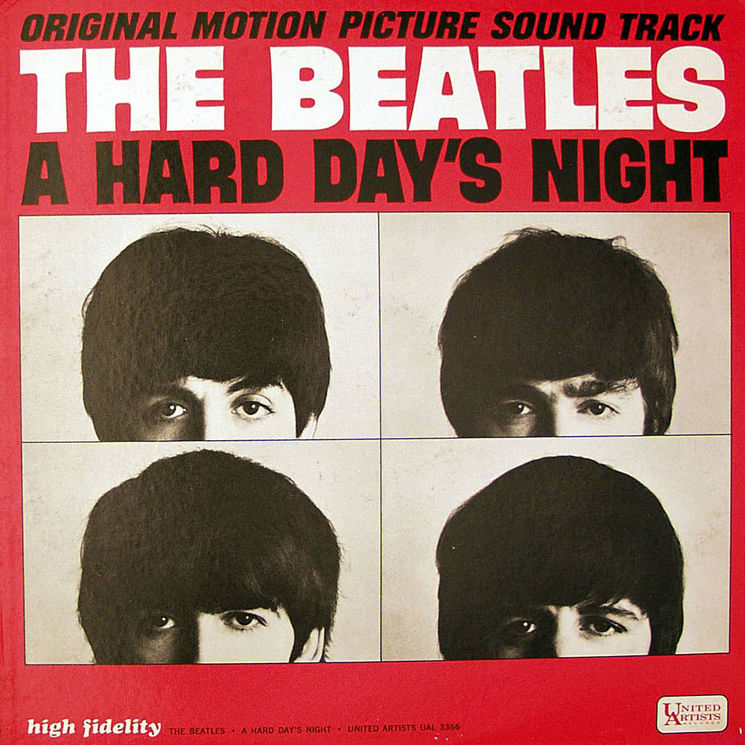 George Harrison Hard Days Night Modern Art