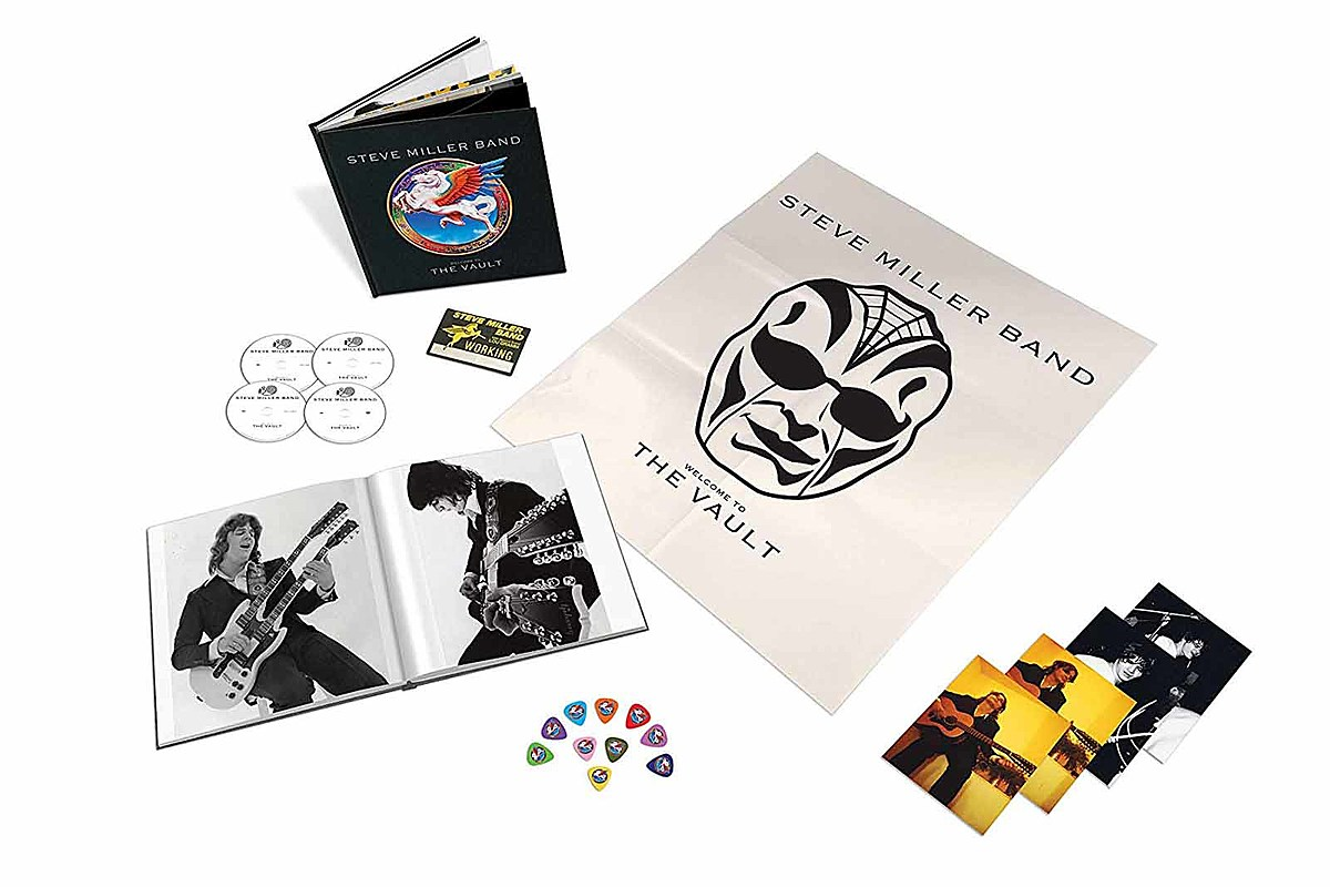 Steve Miller Announces 'Welcome to the Vault' Box Set