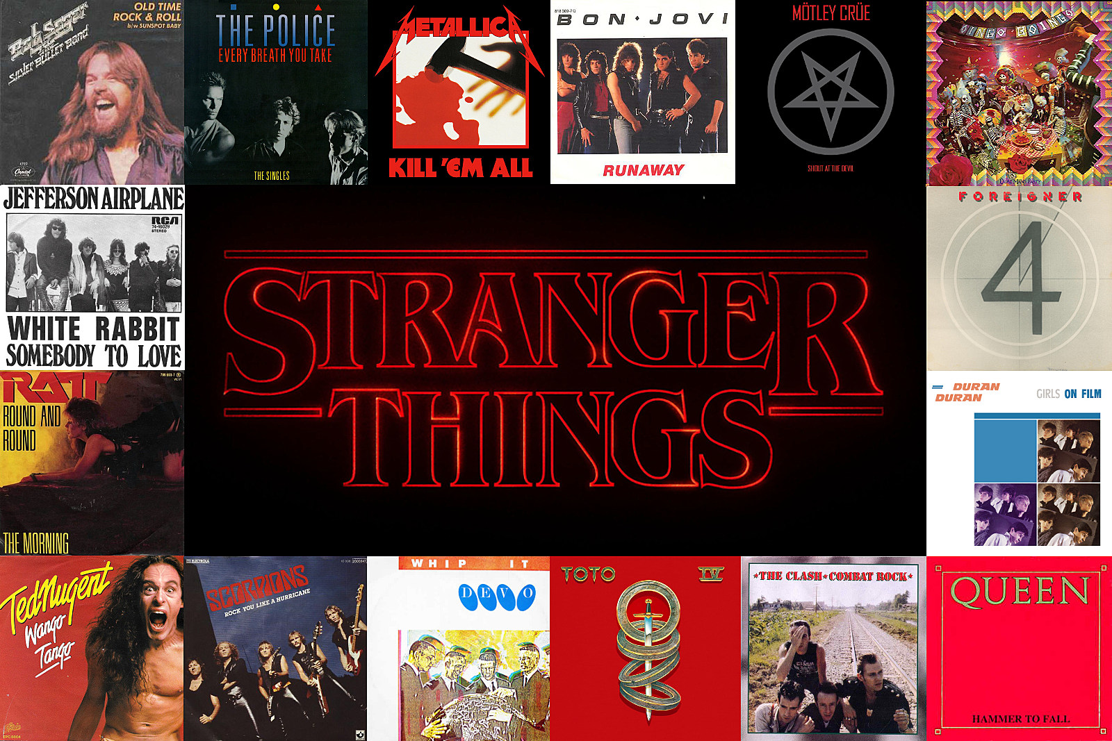 69 Times Rock Music Made 'Stranger Things' Even Stranger