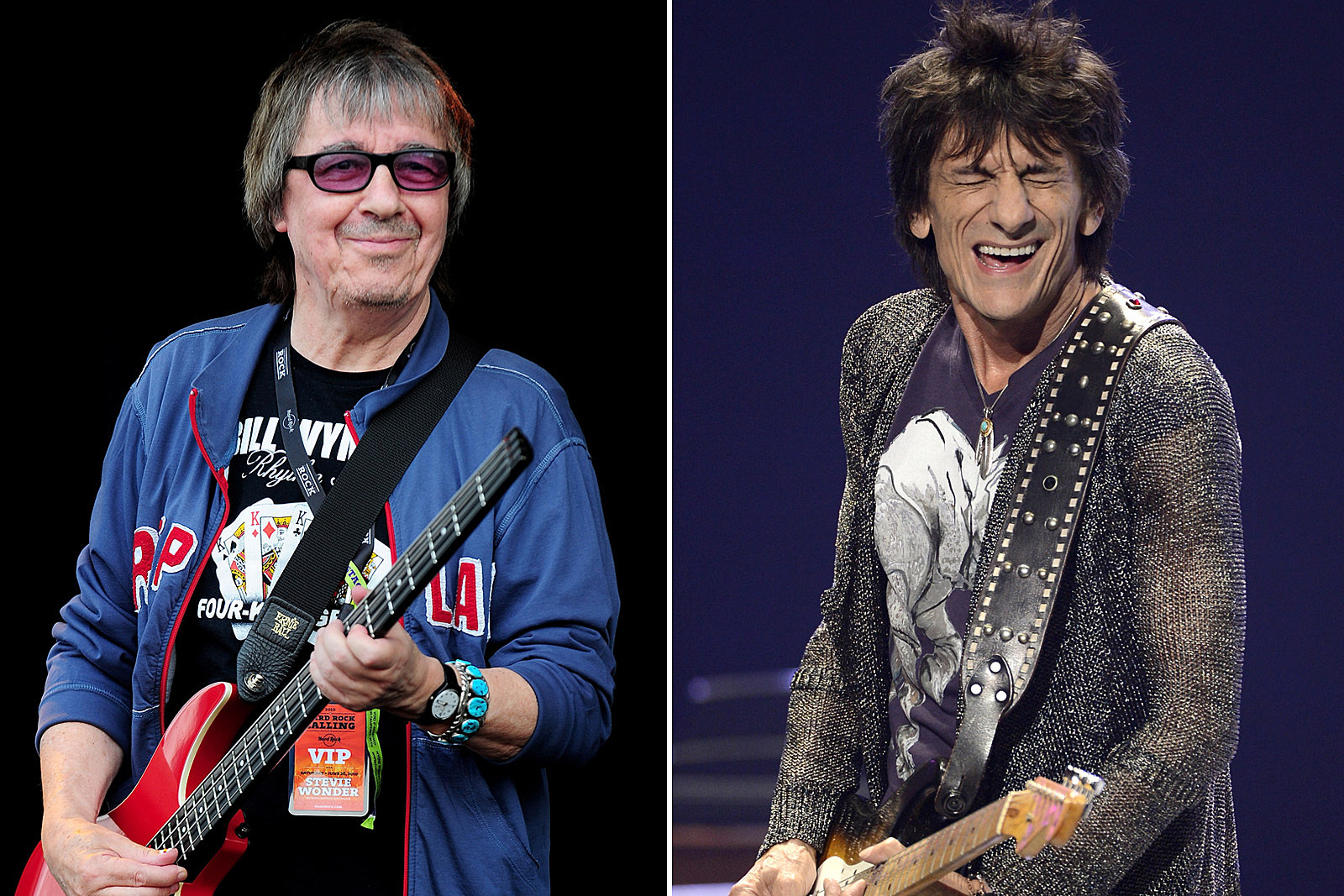 Ted Nugent Says Ron Wood Looks Like He Was in a 'Wood Chipper'