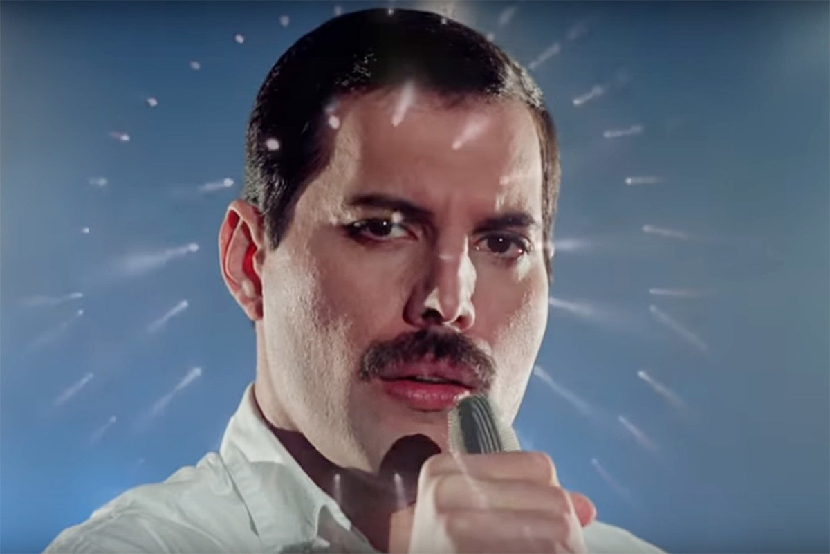 Watch New Version of Freddie Mercury's 'Time Waits for No One'