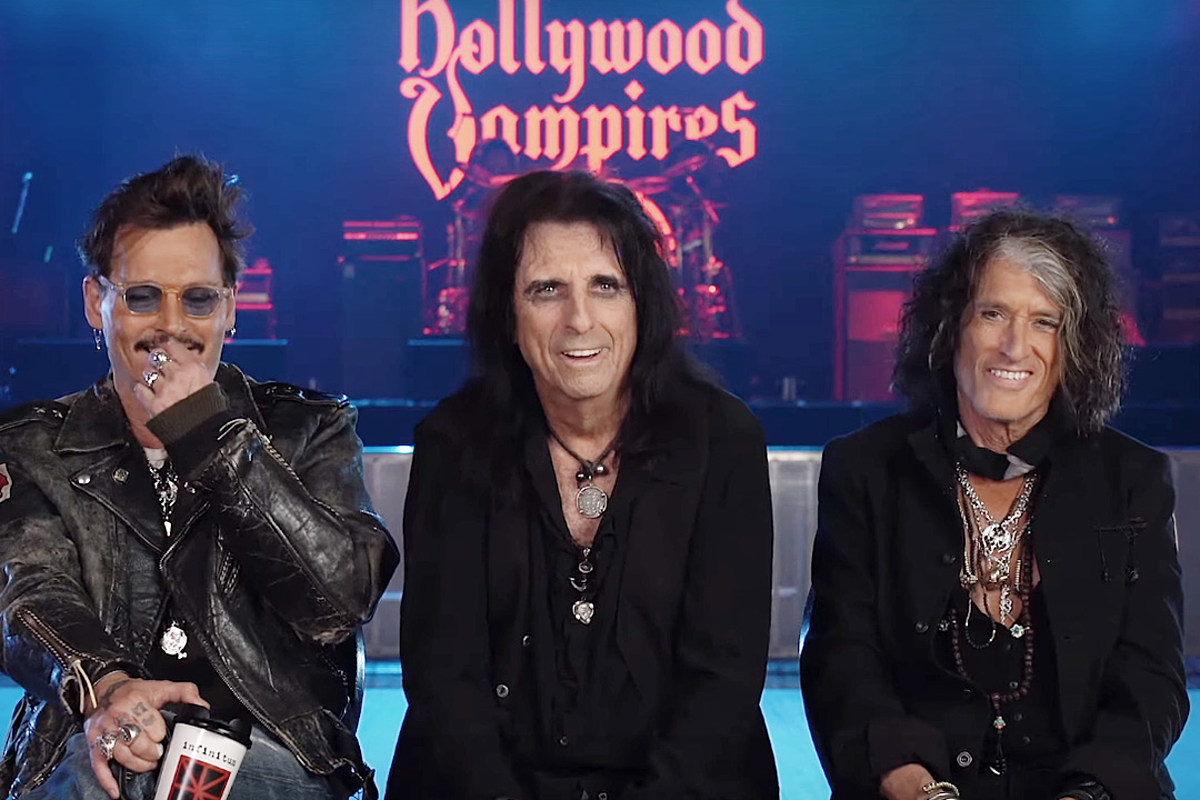 How Alice Cooper Talked Johnny Depp Into Singing 'Heroes'