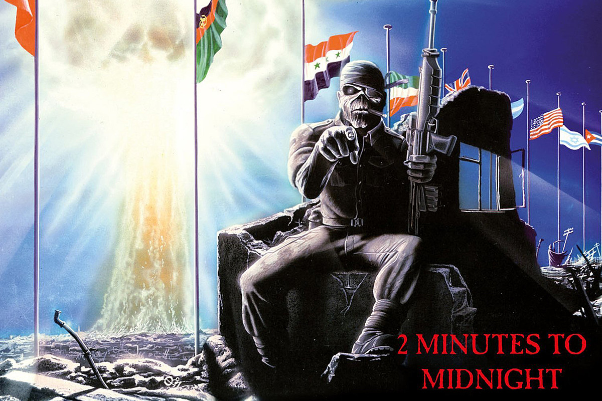 How Iron Maiden Wrote '2 Minutes to Midnight' In Just 20 Minutes