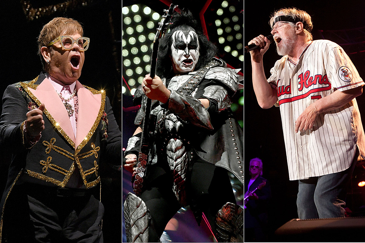 Elton John, Kiss, Bob Seger Among 2019's Most Lucrative Tours