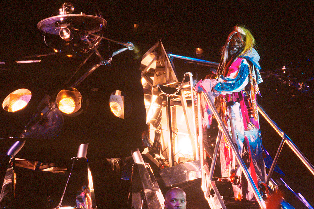 George Clinton Recalls Moon Landing: 'We Was Up There, Waiting!'