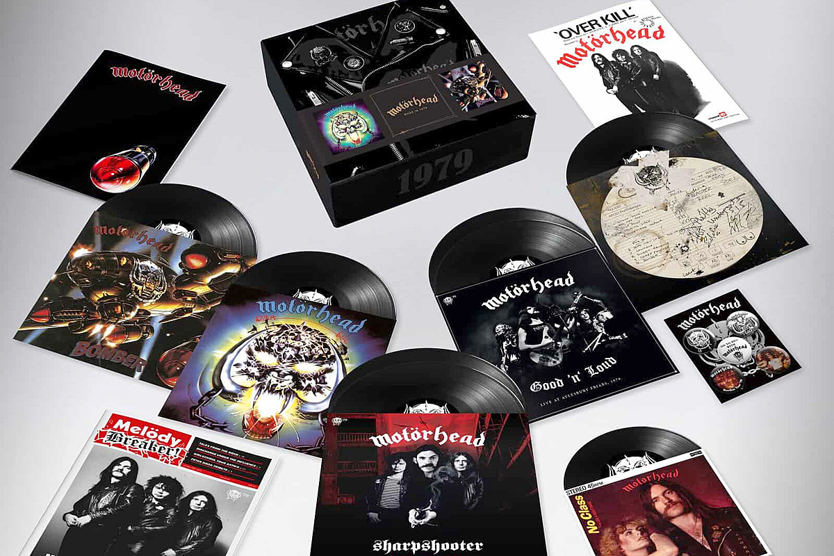 Motorhead Announce Overkill And Bomber Box Set And