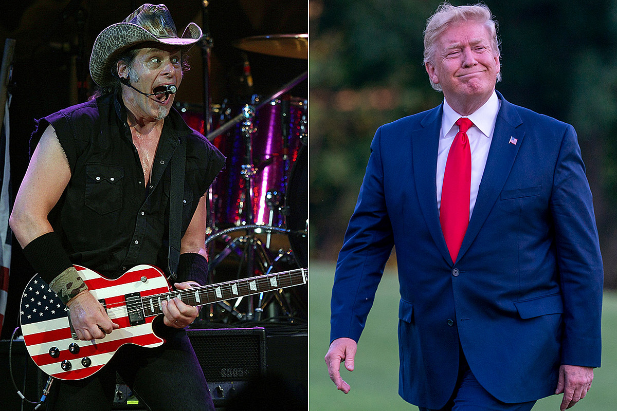 Ted Nugent Says Trump is 'The Best President I Have Ever Seen'