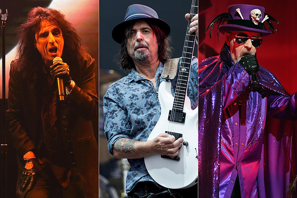 Alice Cooper, Rob Halford Guest on Motorhead's Phil Campbell LP