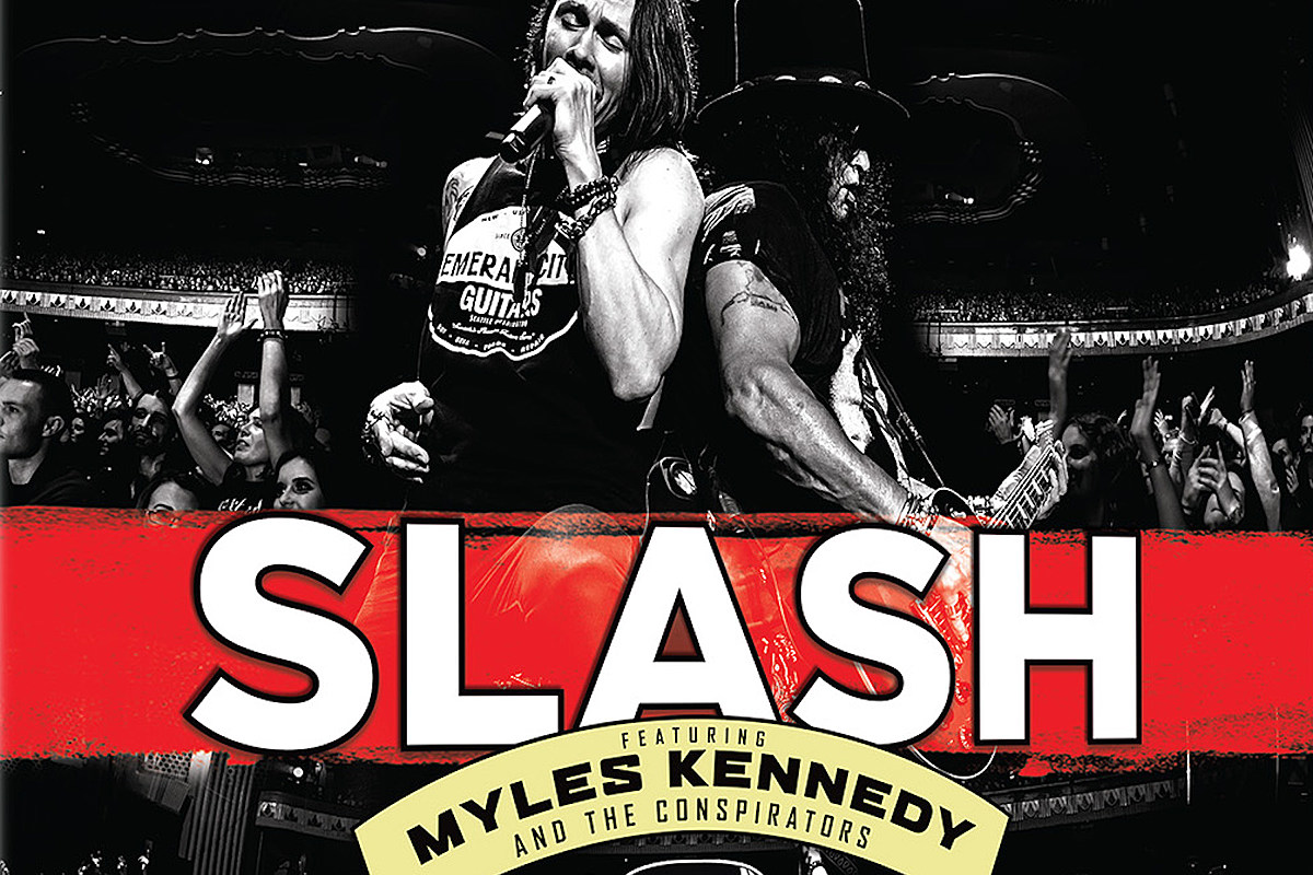 Slash Previews 'Living the Dream Tour' Project With New Video