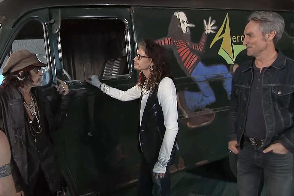 How 'American Pickers' Saved Aerosmith's First Tour Van