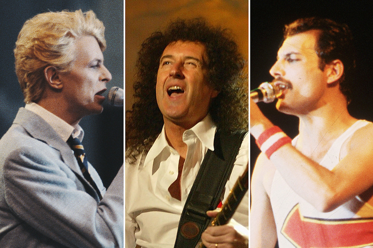 How Queen and David Bowie Put Themselves 'Under Pressure'