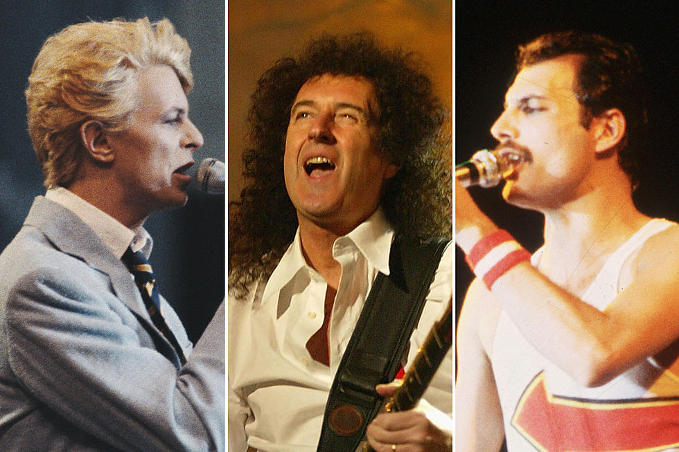How Queen and Davie Bowie Put Themselves 'Under Pressure'