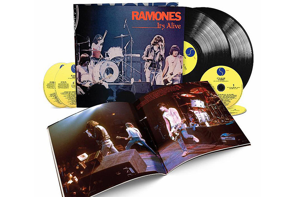 Ramones 'It's Alive' Reissued With Three Additional Concerts