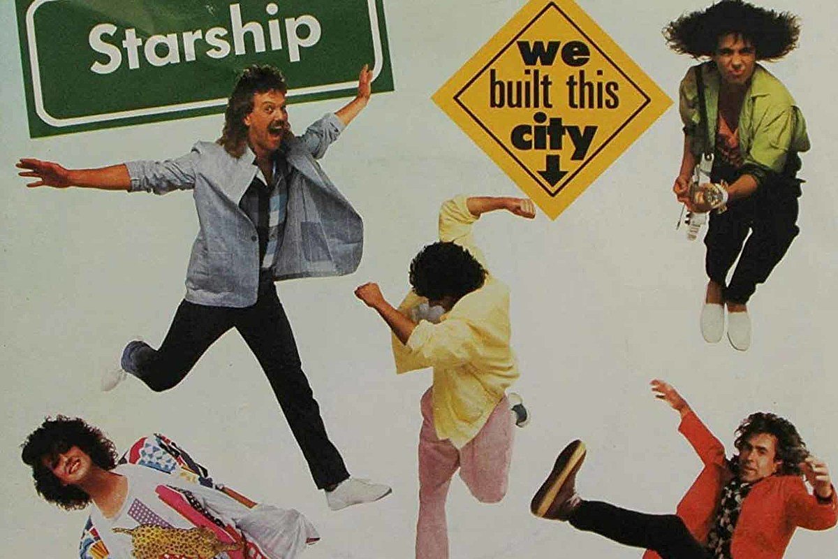 Starship's Mickey Thomas Stands Up for 'We Built This City'