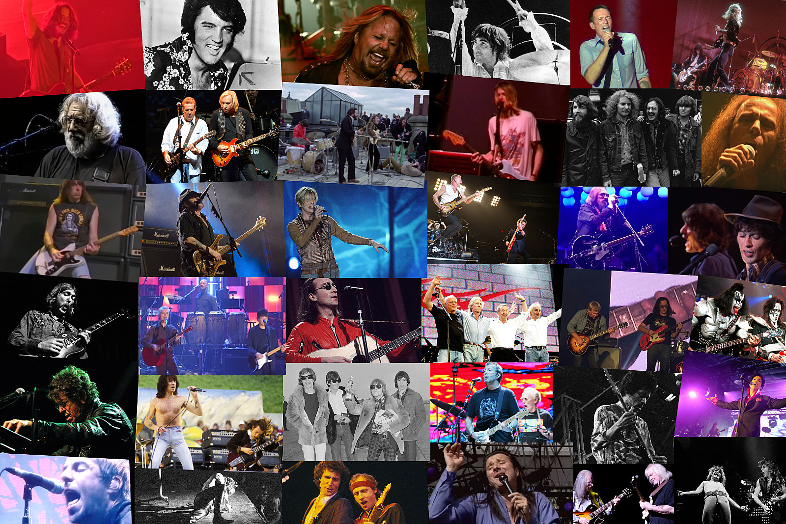 The Final Songs Performed Live by 50 of Rock's Biggest Artists