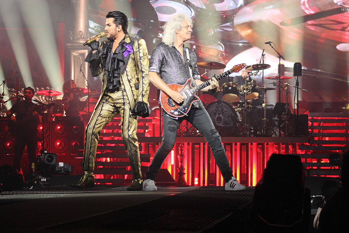 Queen and Adam Lambert Deliver New 'Rhapsody' in Concert: Photos