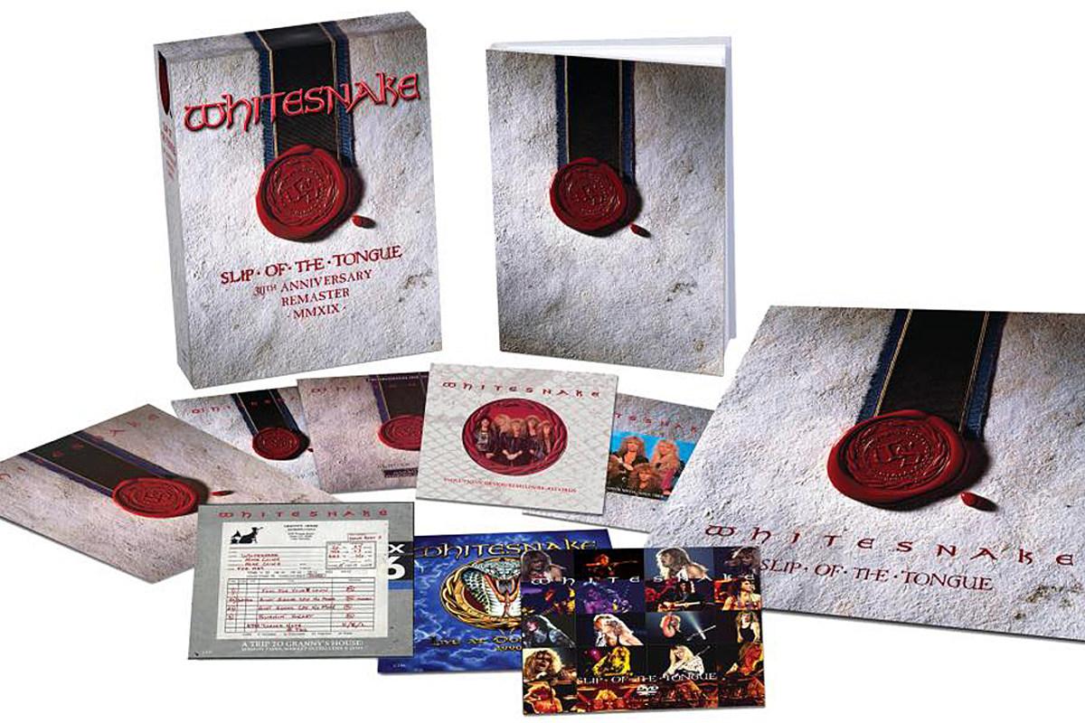 Whitesnake Announce 'Slip of the Tongue' 30th Anniversary Box