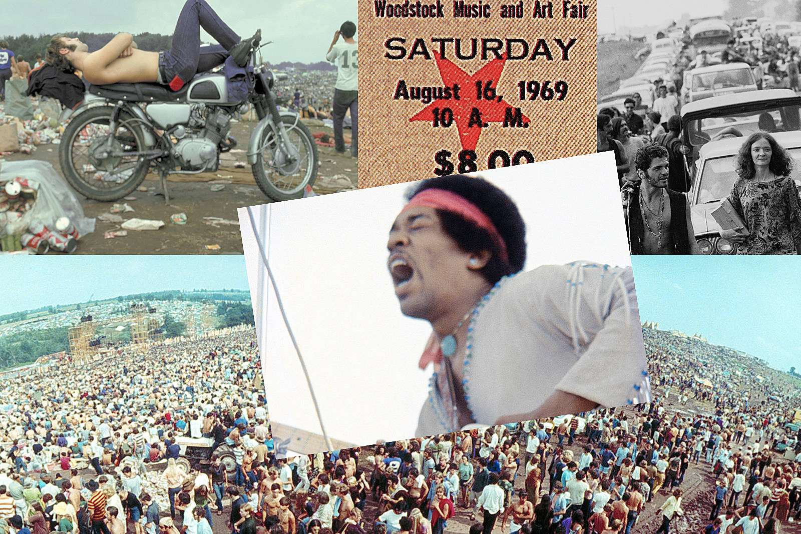 25 Years Ago: Woodstock '94 Offers Music, Moshing, Mud and Dylan