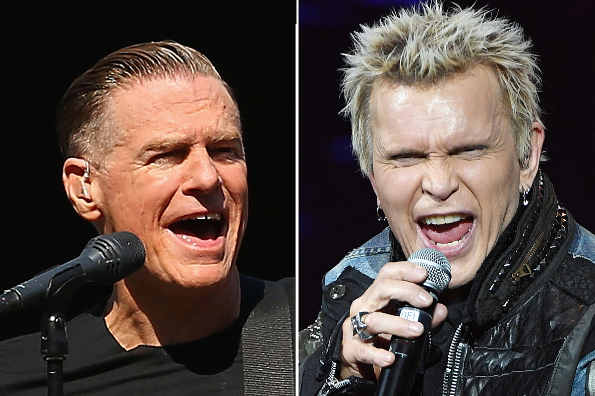 Watch Billy Idol and Bryan Adams Duet on 'C'mon Everybody'