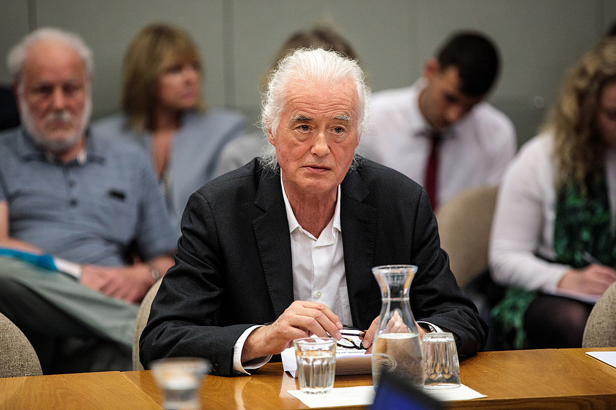 Jimmy Page Loses Planning Battle with Neighbor