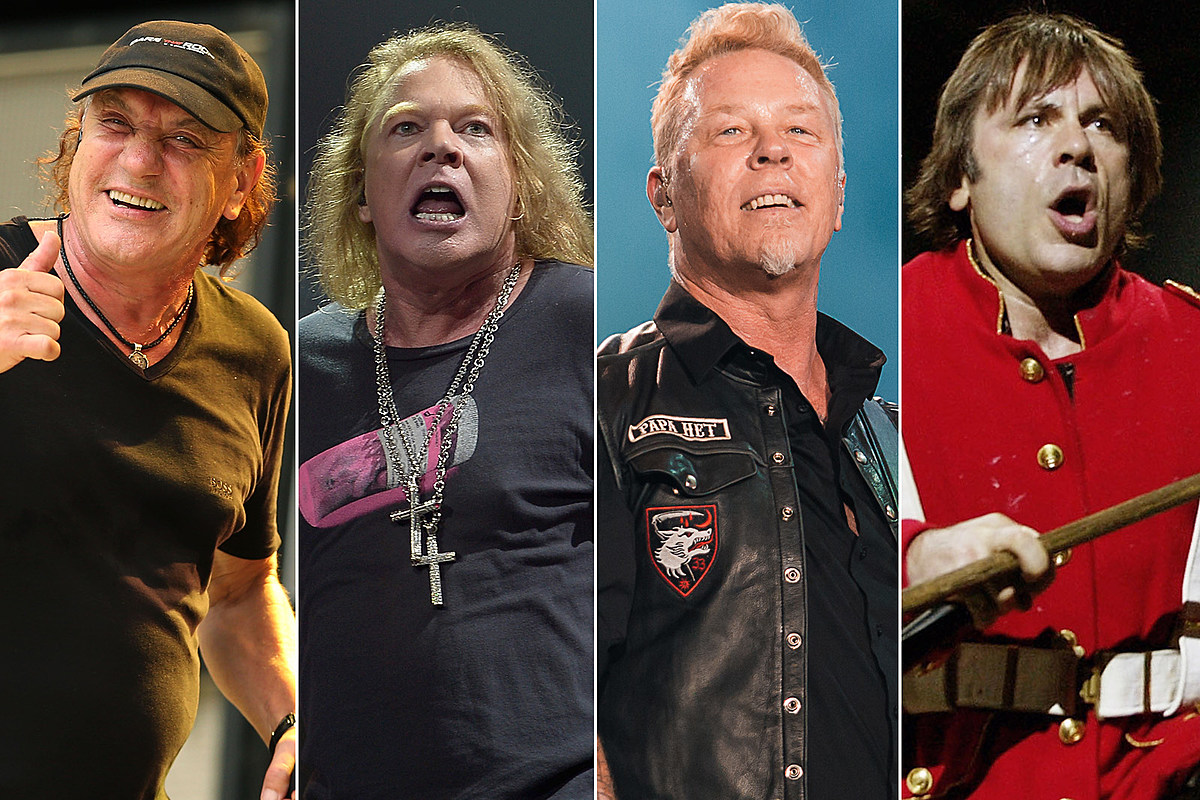 Which Rock Giant Will Release Their Next Album First?
