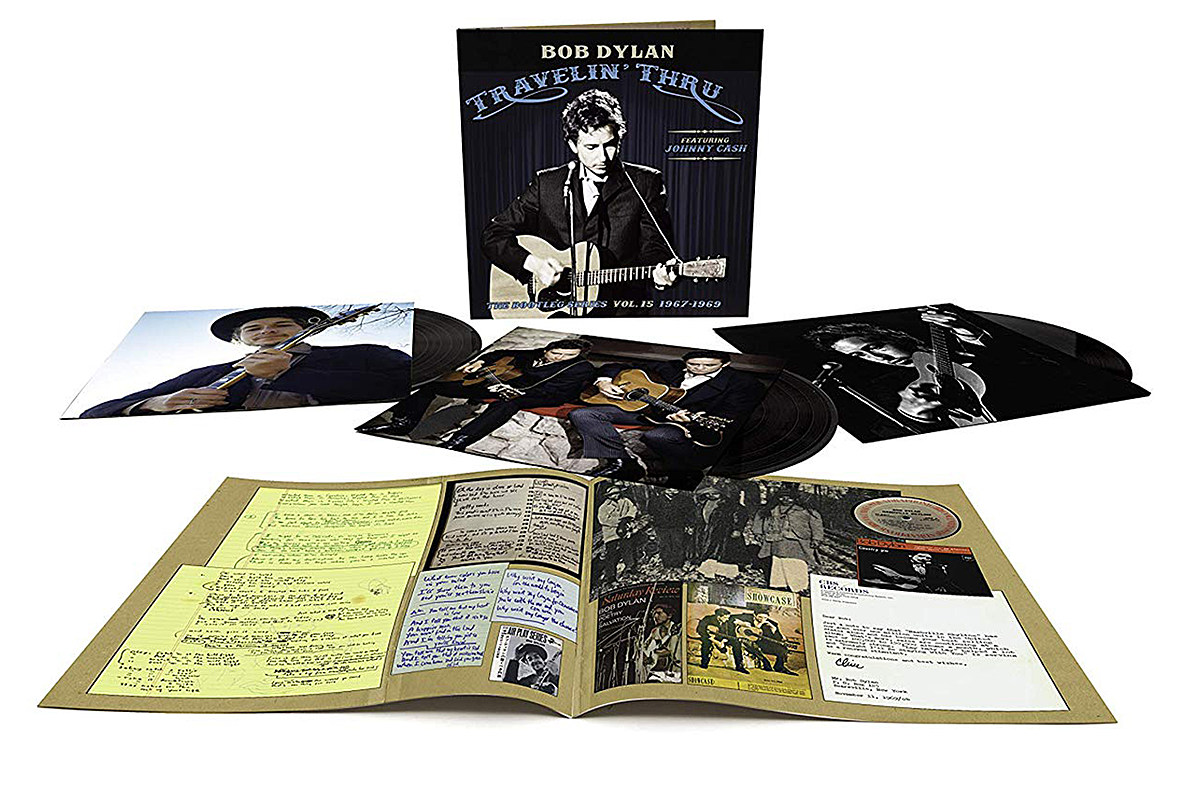 "Resultado de imagen de ""Bob Dylan (featuring Johnny Cash) – Travelin' Thru, 1967 – 1969: The Bootleg Series Vol. 15"""