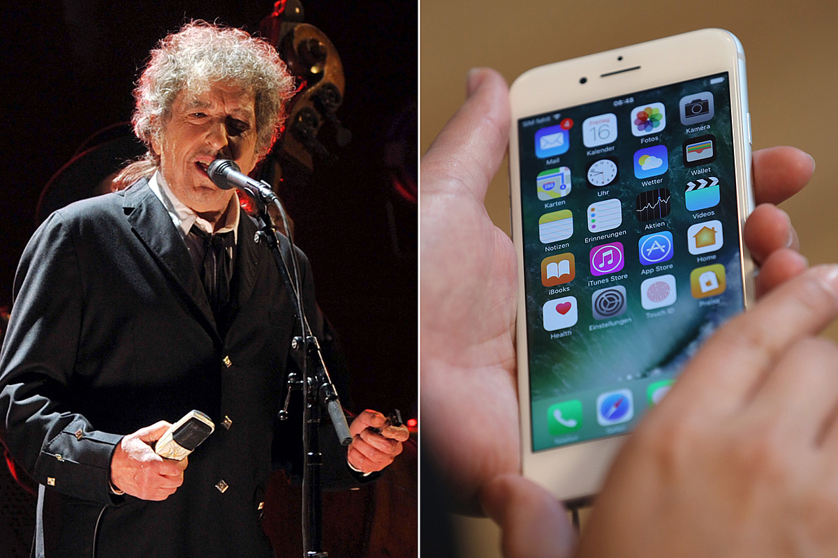 Siri Briefly Thought Bob Dylan Was Dead