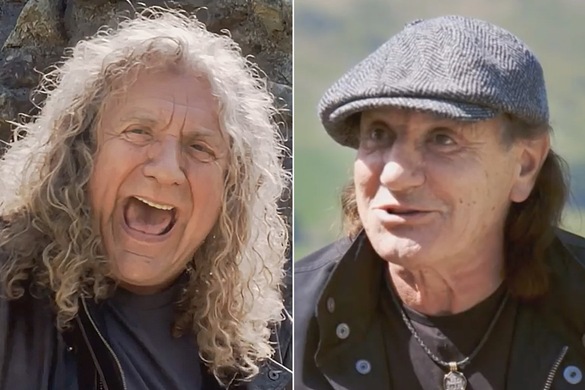 Watch Robert Plant Joke About Brian Johnson Joining Led Zeppelin